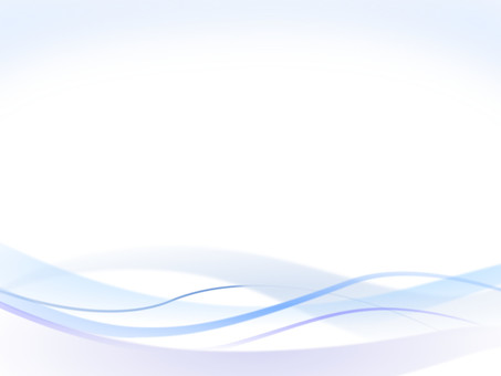 Wave and curved background material Blue blue series ver 2