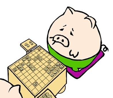 Oin which seems to be defeated in shogi