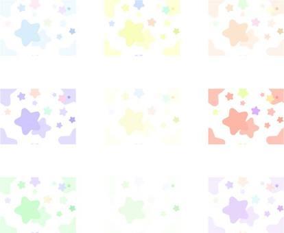 Background pattern _ star