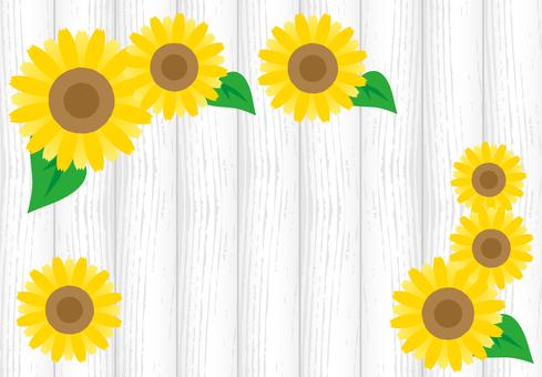 Sunflower wood