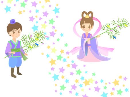 Tanabata Orihime and the Hikari Star Milky Way