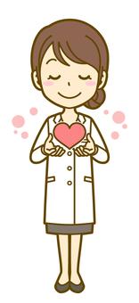 Female (doctor): A_ Heart 02 FS
