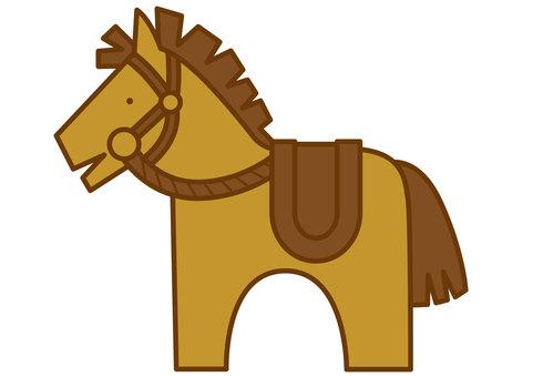Horse 4-4c