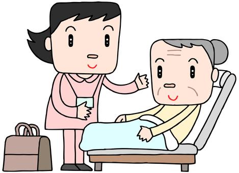 Visit nursing