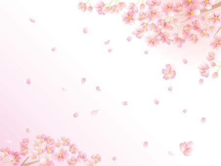 벚꽃 무늬 3