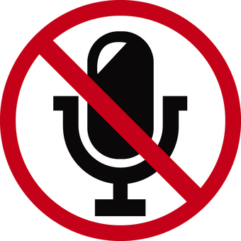 No recording or microphone