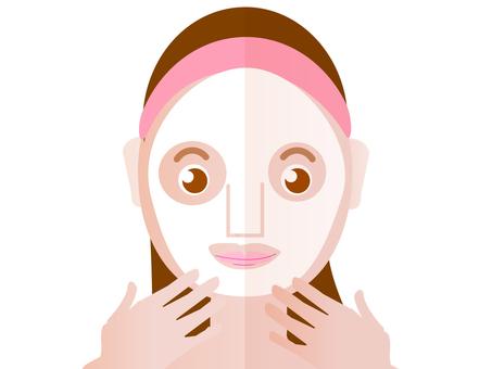 Facial pack