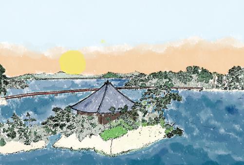松島日の出