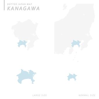 Dot map Kanagawa 1