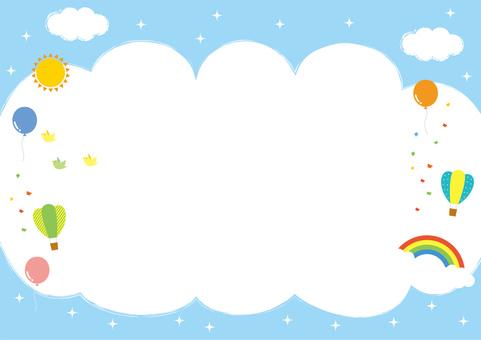 空の背景 フレーム2