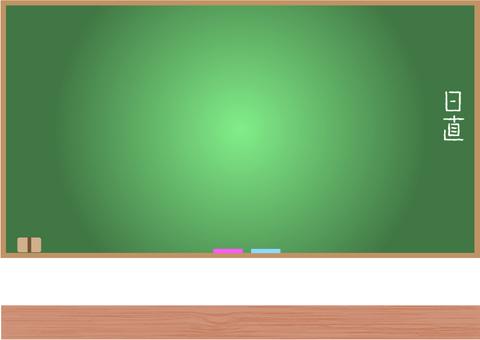 Blackboard frame