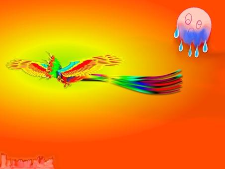 That was a fire bird! (2125)