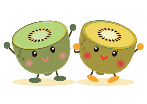 kiwi _ face kiwifruit 6