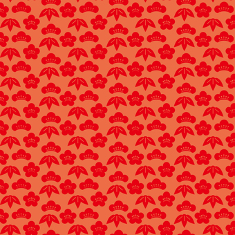 Shoot bamboo plum pattern -1