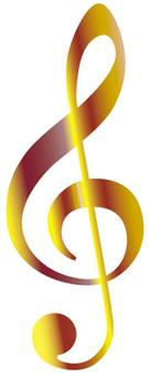 Glitter sound symbol