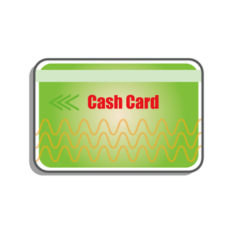 Cash card (bank card)
