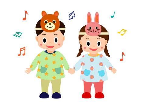 유희 발표회 유치원 보육원