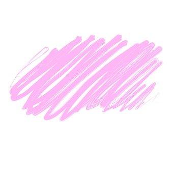 Pen test writing pink