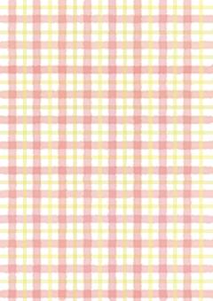 마드라스 체크 핑크 계열
