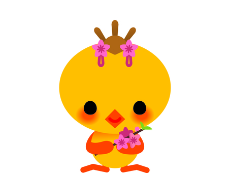 HIYOKO's doll festival women chicks