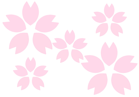 Cherry blossoms (thin multiple)