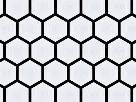 Background material hexagon 1