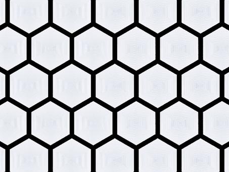 背景素材 六角形1