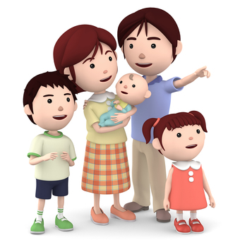 5 people family 05