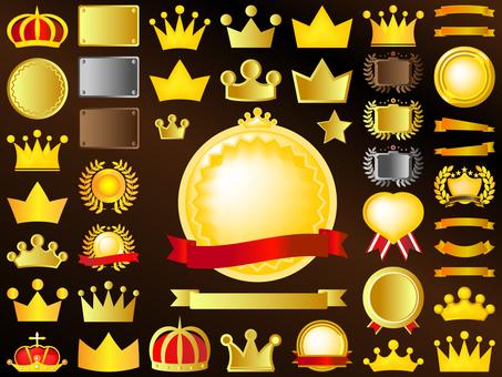 王冠/メダル