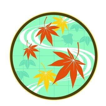 Autumn leaves icon
