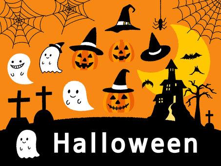 Halloween illustration <1>