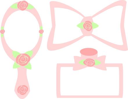 리본 향수 · 손거울 노트 01