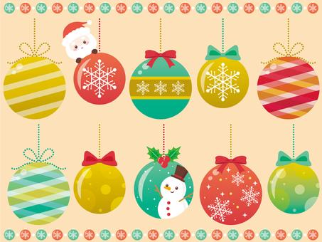 Christmas ball ♡ frown