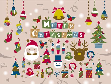 Christmas motif set_B