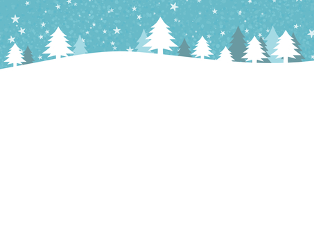 Winter snow background silver world simple cute
