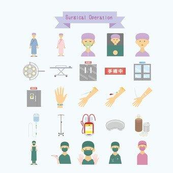手術的插圖