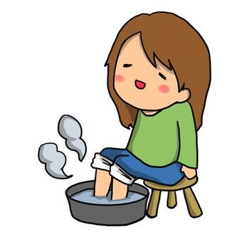 Foot bath foot bath