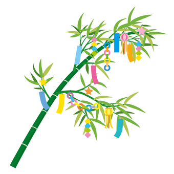 Tanabata decoration illustration