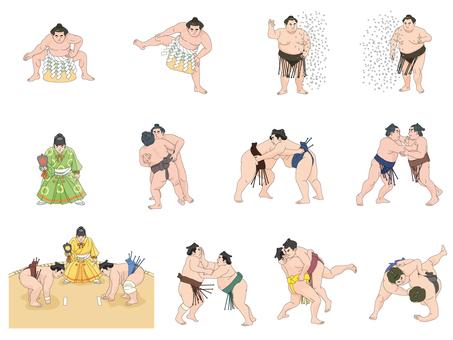Grand Sumo set