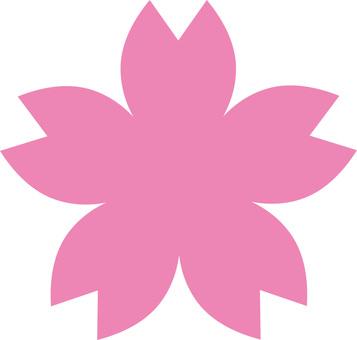 Cherry blossom petals (Sakura mark)