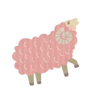 2015 New Year's cards sheep