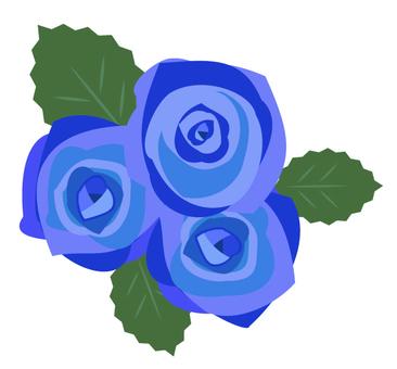Roses (blue)