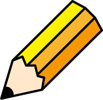 연필 아이콘 일러스트 2