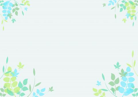 Fresh green material 105