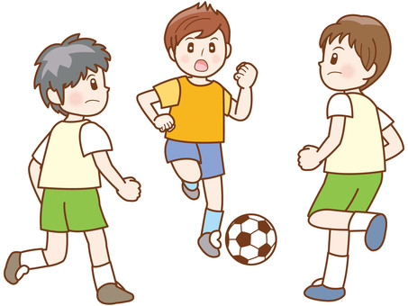 Soccer boy line C