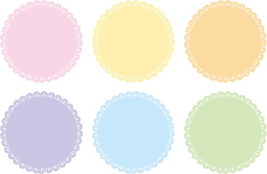 6 color race