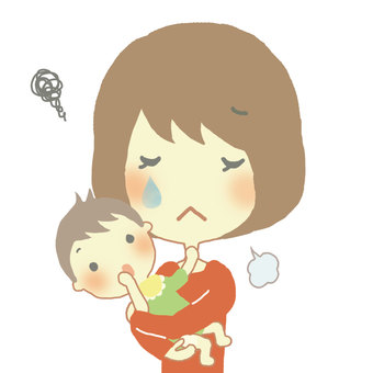 엄마와 아기 7