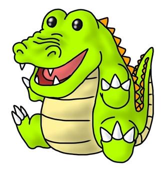 Crocodile stuffed toy