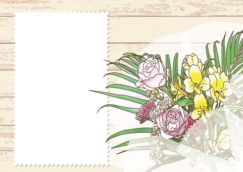 Bouquet card