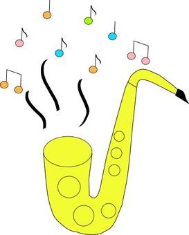 알토 색소폰 연주